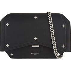 Givenchy Bow-Cut Mini Leather Crossbody Bag as seen on Kendall Jenner