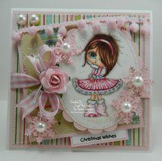 Christmas Wishes Handmade OOAK Card by thehoosierstamper, $14.95 USD