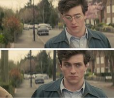"Aaron-Taylor Johnson in ""Nowhere Boy."""