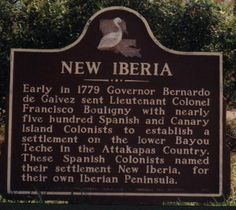 New Iberia Louisiana - this is where my family roots began....from my great grand parents to grand parents then my daddy. He was born and raised in New Iberia