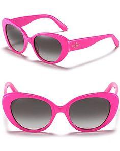 Kate Spade Franca Cat Eye Sunglasses