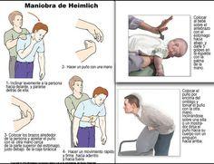 Como Realizar la Maniobra de Heimlich | Guia de Primeros Auxilios Más