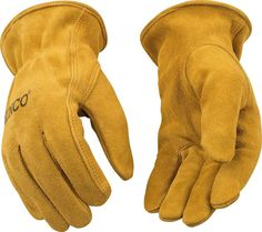 Kinco 50 Unlined Mens Suede Work Gloves Cowhide Driver Farm Child - Gloves - Ideas of Gloves Biker Gloves, Motorcycle Gloves, Leather Repair, Leather Men, Leather Work Gloves, Tactical Wear, Safety Gloves, Leather Craft, Mens Fashion