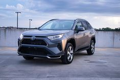 2021 Toyota RAV4 Prime Test Drive Review: Plug-In Is The New V8. New Toyota Rav4, Toyota Rav4 Hybrid, Electric Motor, Electric Cars, Future Car, Audio System, Driving Test, Pecan Bars, Exterior Design