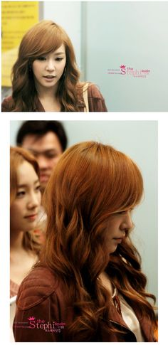 She is pretty.. and I like her hair    Tiffany SNSD