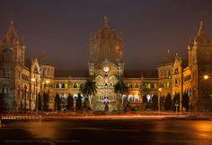 Symbolic to the city of Mumbai, the Chatrapati Shivaji Terminus(CST), India