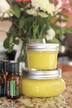 Perfect Gift for Mom! DIY Skin Care for Gardeners & Everyone Else\  ~~Skin care salve and ointment recipes with different Essential Oils in each one.    ~~I want to make this for use after showering.  Especially for my legs.  ~~I think my mom (and mom-in-law) would love this too!!!