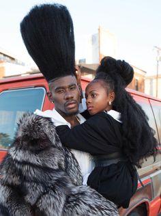 Fashion Trend Instagram sensation Benny Harlem on redefining stereotypical Black Girls Hairstyles, Afro Hairstyles, Benny Harlem, Curly Hair Styles, Natural Hair Styles, Pelo Afro, Long Natural Hair, Long Curly, Big Hair