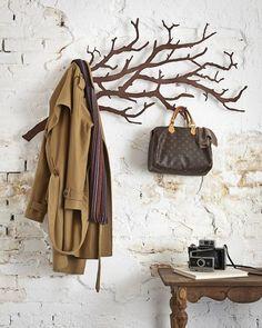 나뭇가지 모양의 옷걸이    Tree-shaped Hanger