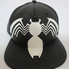 a942940b Amazing Spiderman Marvel Comics Swag Hat Cap Snapback Black OSFM Unisex  #Bioworld #BaseballCap Spiderman