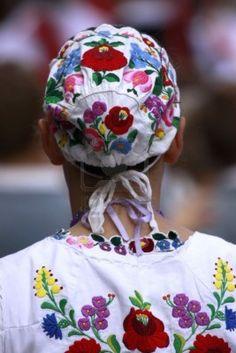 Traditional Hungarian folk dress Stock Photo