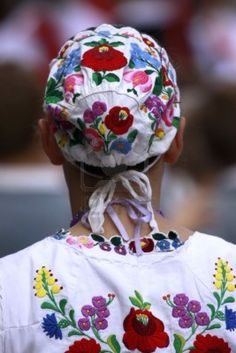 Traditional Hungarian folk dress