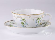 Herend- Nyon tea cup and saucer