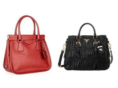 Prada Bag has created a bag new model output with very special and very  suitable at the time of the winter or spring