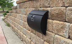 #ebay #Mailbox #Black #Painted #Box #Modern #Lockable #Secure #Wall #Mount #Modern #Urban #Style #Handmade