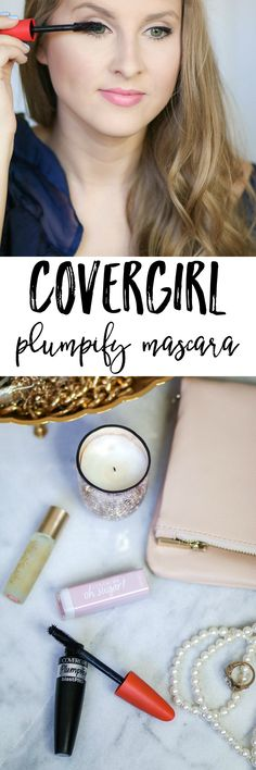In my opinion, Covergirl mascaras never disappoint. I tested out the new Covergirl Plumpify Mascara, and I have to say it's a winner in my book. It gives a glamorous everyday look without going overboard, and it can be applied lightly for a more natural look. If you want to see this mascara in action, click through this pin to see the full review from beauty blogger Ashley Brooke Nicholas at ashleybrookenicholas.com