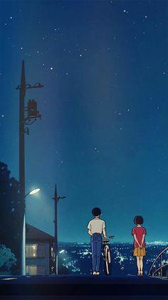 Studio ghibli,whisper of the heart,hayao miyazaki Art Studio Ghibli, Studio Ghibli Films, Studio Ghibli Quotes, Handy Wallpaper, Heart Wallpaper, Wallpaper Backgrounds, Beautiful Wallpaper For Phone, Phone Backgrounds Tumblr, Blog Backgrounds