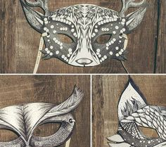 https://www.etsy.com/listing/195918747/my-deer-mask-bw-collection