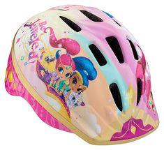 Shimmer & Shine Toddler Helmet Ship for sale online Helmets For Sale, Kids Helmets, Toddler Bike Helmet, Pink Helmet, Mermaid Shoes, African Dresses For Kids, Shimmer N Shine, Shinee, Toddler Girl