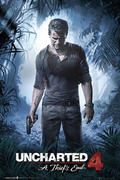 Uncharted 4 A Thiefs End - Official Poster. Official Merchandise. Size: 61cm x 91.5cm. FREE SHIPPING