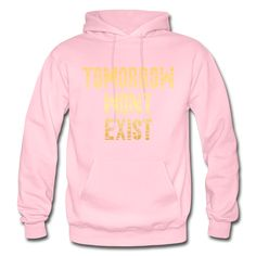 TWE Heavy Blend Adult Hoodie - TWE Typography - light pink / S