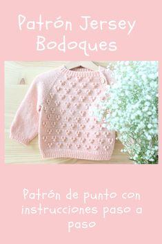 Baby Knitting Patterns, Baby Sweater Knitting Pattern, Knit Baby Sweaters, Knitting Blogs, Knitting For Kids, Knitting For Beginners, Crochet Designs, Knitting Designs, Crochet Baby