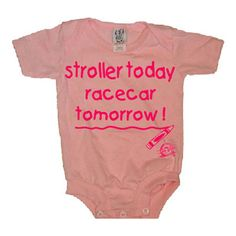 Only for a NASCAR baby! :-) Grandma Planert would love this!