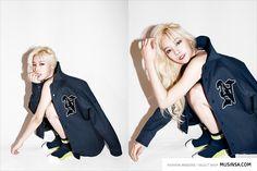 WA$$UP - Kim NaRi #김나리 #나리 photoshoot for MUSINSA #와썹 #무신사 #화보 140918