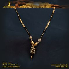 Gold 916 Premium Design Get in touch with us on Indian Wedding Jewelry, Indian Jewelry, Bridal Jewelry, Beaded Jewelry, Gold Jewelry, Gold Mangalsutra Designs, Gold Jewellery Design, Necklace Designs, Touch