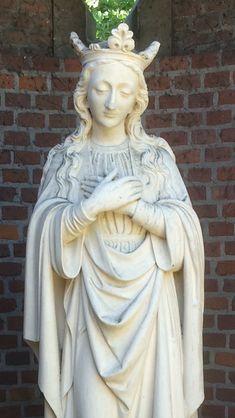 Mariabeeld op kasteel Stapelen, Boxtel