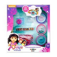 Dora and Friends Interchangeable Charms by Rainbow Loom Roxo