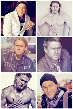 Okay.. The more I watch sons of anarchy, the more I see christian grey in him. I can get behind this.