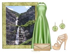 """Summer Waterfall"" by sjlew ❤ liked on Polyvore"