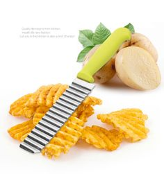Stainless Steel Wave Knives Potato Chips French Fries Knives Fruit Vegetable Tools Kitchen Tools Gadgets 99