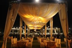Table and Chair setup - Indian Wedding Decoration #YunaWeddings