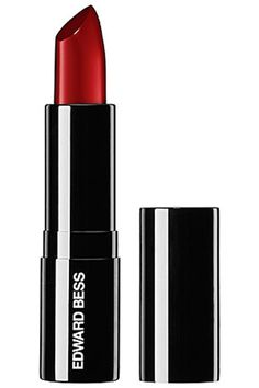 Red Lipstick Colors To Wear This Summer 2013 : Dark Red - Sultry, seductive, and sleek, Edward Bass's burgundy lipstick has total femme-fatale appeal. We picture this one accompanied by long, black evening gloves and martinis.   Edward Bess Ultra Slick Lipstick in Midnight Bloom