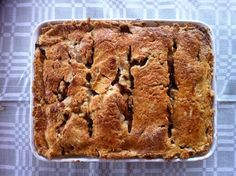 Baked by me ; Apple Cinnamon, Banana Bread, June, Baking, Desserts, Food, Gourmet, Tailgate Desserts, Meal