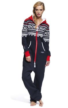 Marius Onesie Navy/Red/White - Damen