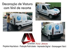 Atelier Ana Jesus: Decoração de Viatura com Vinil de Recorte