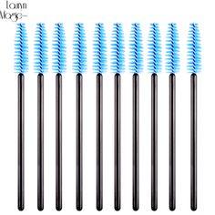 10PCS/pack Disposable Eyelash Brush Mascara Wands Applicator Wand Brushes Eyelash Comb Brushes Spoolers Makeup Tool