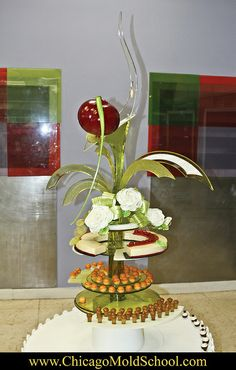 Sugar Showpiece from the Pastry MOF 2011 in Paris, France - The Chicago School of Mold Making