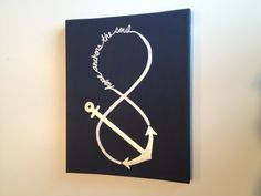 Anchor Painting via Etsy. Would make a cool tattoo!