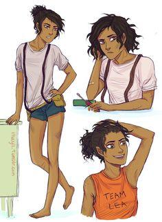 Lea Valdez, a genderswap of Leo Valdez.
