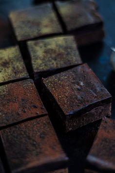 Louise´s Spis: Lakrits Brownies med Choklad-Lakrits Kolafudge