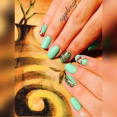 Nails by #Aggelina_Iosifidou