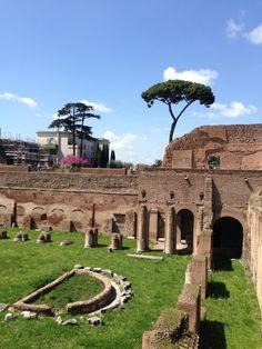 Palatino in Roma, Lazio Historical Sites, Four Square, Italy, Architecture, Travel, Rome, Viajes, Arquitetura, Italia