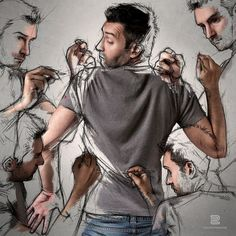 My sketches and me / Sébastien Del Grosso   AA13 – blog – Inspiration – Design – Architecture – Photographie – Art