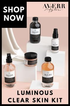 FINALLY Get Clear Skin PERFECTLY made for your skin tone with Averr Aglow Clear Skin Kit! The best organic ingredients for radiant natural beauty. Don't let your skin stop you from living your BEST LIFE! Beauty Kit, Beauty Tips For Face, Beauty Care, Face Beauty, Diy Beauty, Beauty News, Beauty Hacks Skincare, Skincare Routine, Beauty Products