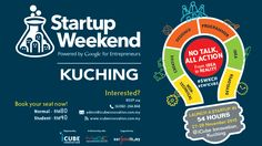 Startup Weekend Kuching @ 27-29 November 2015 – iCube Innovation