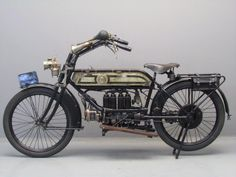 1913 FN Four 498cc Motorcycle. FN (Fabrique Nationale de Herstal) Motorcycles (1901-1967). Belgium.